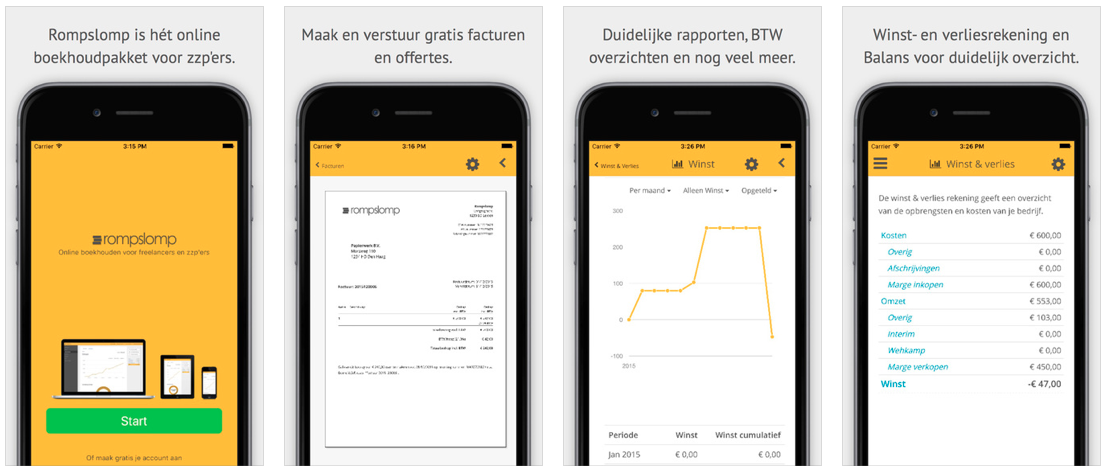Vers van de pers: de Rompslomp iPhone / iPad app!